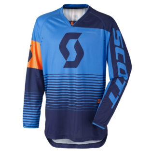 Motokrosový dres SCOTT 350 Track MXVII Blue-Orange - XL (54-56)