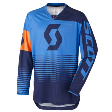 Motokrosový dres SCOTT 350 Track MXVII Blue-Orange - XXL (58)