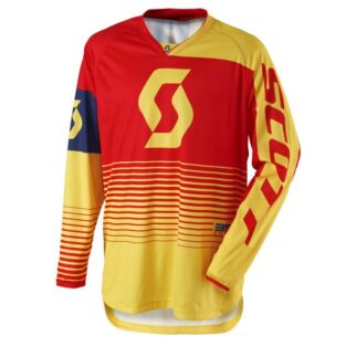 Motokrosový dres SCOTT 350 Track MXVII Yellow-Red - XXL (58)
