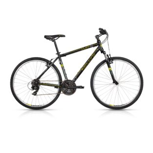 "Pánské crossové kolo KELLYS CLIFF 10 28"" - model 2017 Black-Yellow - 480 mm (19"") - Záruka 10 let"