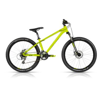 "Dirtové kolo KELLYS WHIP 10 26"" - model 2017 Yellow - M - Záruka 10 let"
