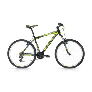 "Horské kolo ALPINA ECO M20 black-lime 26"" - model 2016 445 mm (17"