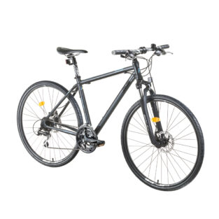 "Crossové kolo DHS Contura 2867 28"" - model 2015 Grey - 19"" - Záruka 10 let"